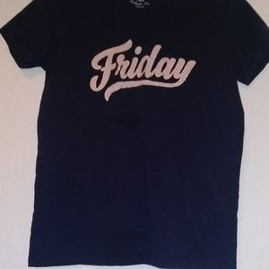 "JCREW ""Friday"" short sleeve t-shirt"